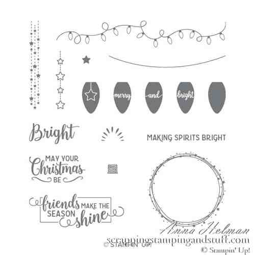 Stampin Up Making Christmas Bright Stamp Set