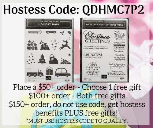Stampin' Up! Hostess Rewards, Free Gift With Purchase, Customer Loyalty Program