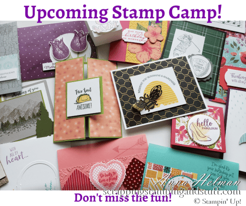 Stampin Up Stamp Camp