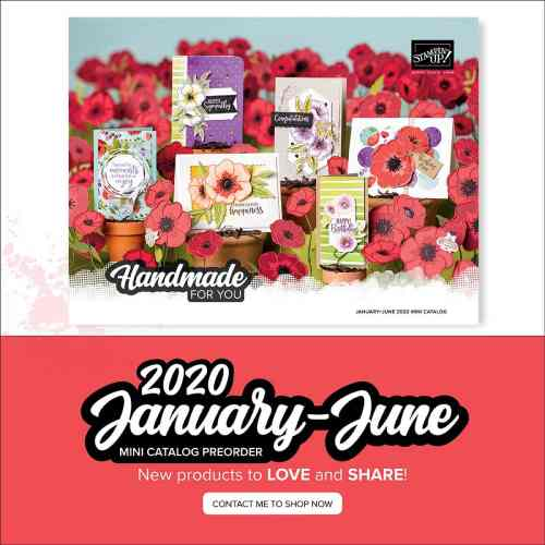 Stampin' Up! 2020 January-June Mini Catalog Occasions Catalog