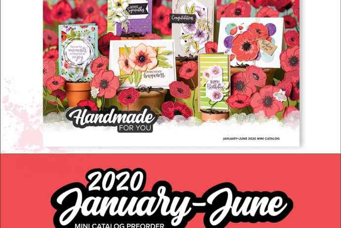Stampin' Up! 2020 January-June Mini Catalog Occasions Catalog