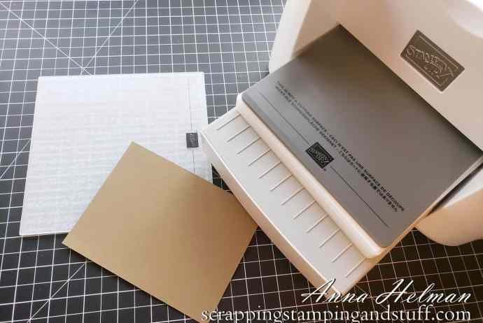 Learn how to dry emboss paper! This is part 5 of my introduction to the Stampin Cut And Emboss Machine, an amazing tool from Stampin Up.