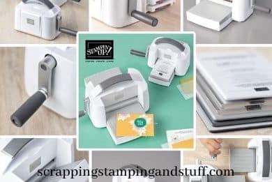 New Stampin Up Cut & Emboss Machine