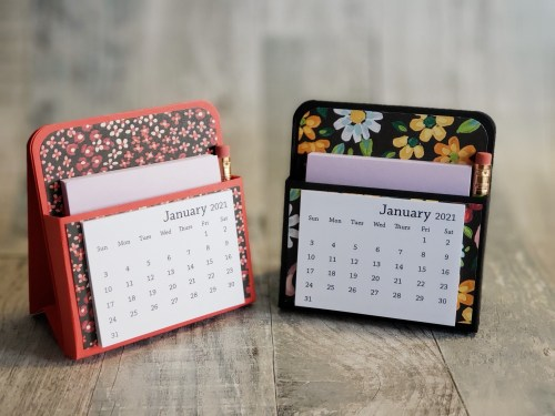 Today is Day 3 of 12 Days of DIY Gift Ideas, and we are making a mini desk calendar -- perfect for a gift that gives all year round!