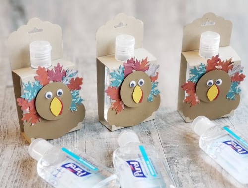 These decorated hand sanitizers make adorable and inexpensive gift ideas and stocking stuffers!
