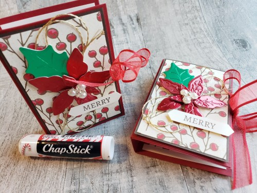 This lip balm booklet is cuteness-to-the max, and it makes a perfect stocking stuffer idea!