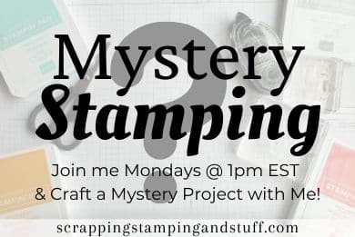 Mystery Stamping Online Card Making Event