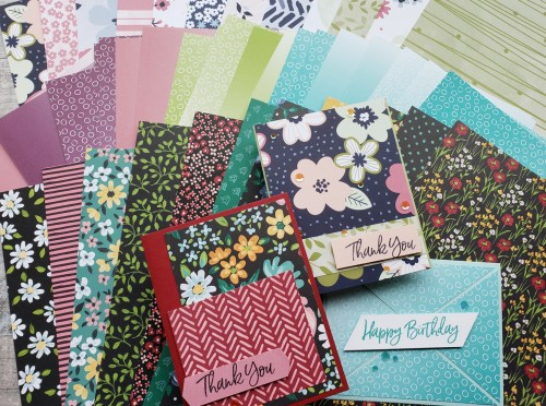 Get entered to win Stampin Up Designer Paper or get it free right now with your product order during Sale-a-bration!