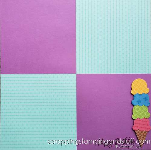 Have you ever wondered how to use 6x6 paper for scrapbooking? Here I'll share 6 ideas for how to use it on your scrapbook pages.