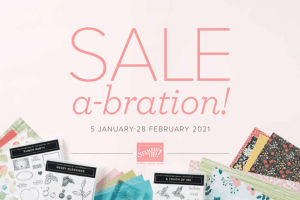 Stampin' Up! 2021 Sale-a-bration Brochure
