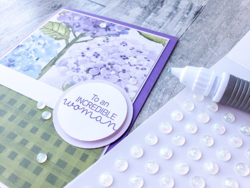 Do you have a hard time applying your embellishments? Try this easy cardmaking hack the next time you apply embellishments to your cards.