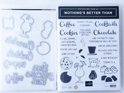Who doesn't love coffee, cookies, chocolate or cocktails?! Make these quick and easy cards that make you SMILE!