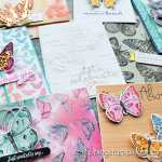 The Stampin Up Butterfly Brilliance bundle is here, and it