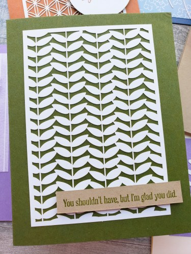 The Dandy Laser Cut Paper from Stampin Up includes delicate and beautiful die cuts, to make your job making amazing cards quick and easy!