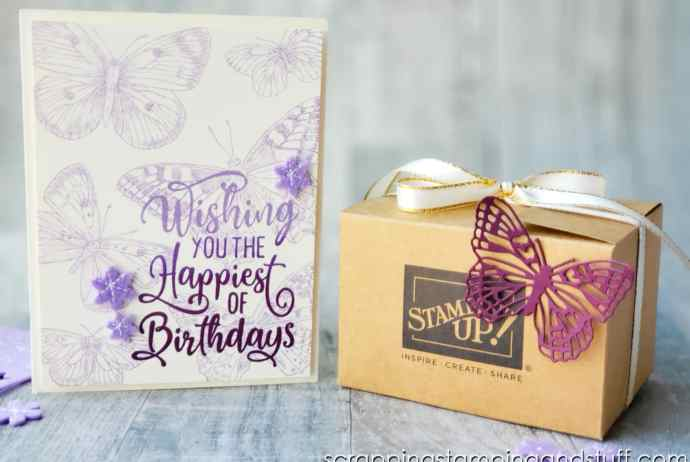 Take a look at this butterfly birthday card and check out the techniques, tips and tricks I used to create it!