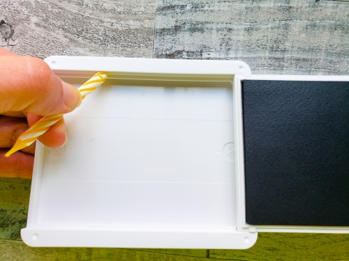 Click for an awesome tip for how to loosen up stiff ink pads using an everyday item you already have at home!