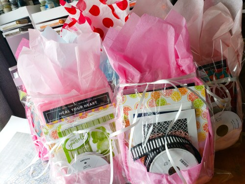 Host a Stampin Up Facebook party and get free shopping credit and fun host gifts!