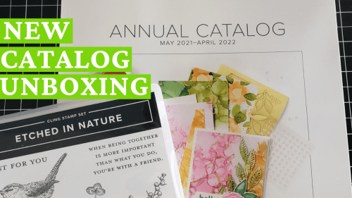 Stampin Up New Annual Catalog Product Unboxing!