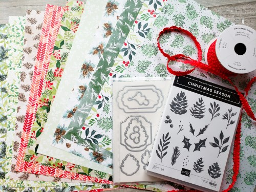 Take a look at these product sneak peeks from the 2021 Stampin Up July-December Holiday Catalog!
