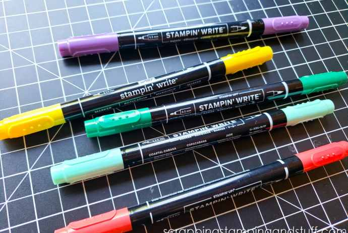 Stampin Up Stampin Write Markers are the perfect marker for cardmaking, paper crafting and scrapbooking. Click here to learn more!