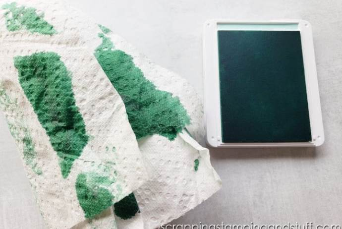 Did you get the wrong color ink on your ink pad? That's the worst, but click here to see how to fix it quickly and easily!