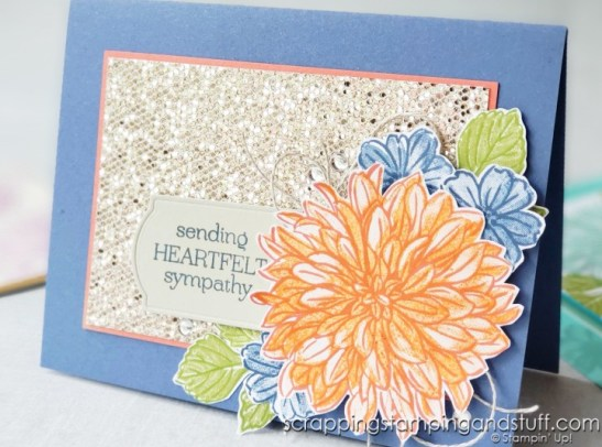 See three ways to create beautiful dahlia cards using the Stampin Up Delicate Dahlias stamp set! Plus details on Sale-a-braiton and Holiday Catalog ordering!