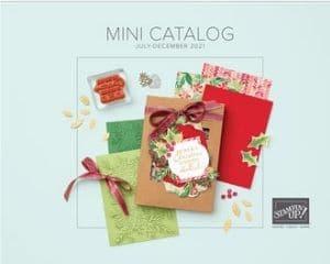2021 Stampin Up Holiday Catalog - July - December Mini Catalog