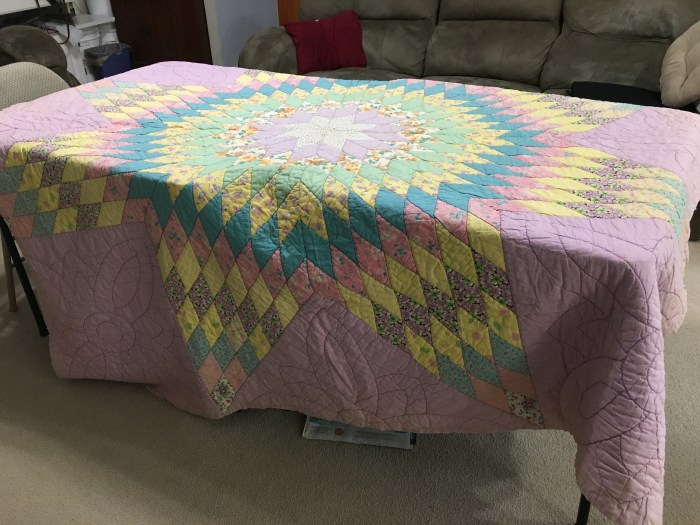 1950's Star of Bethlehem/Lone Star quilt