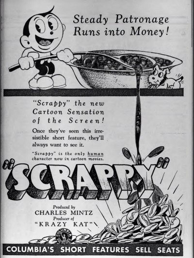Scrappy ad