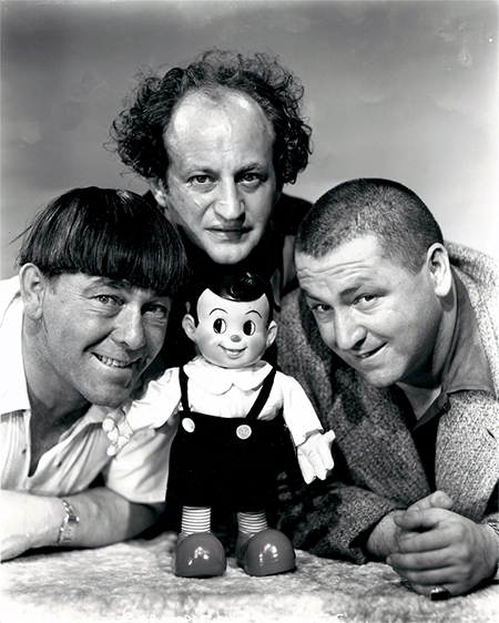 Scrappy and the Three Stooges