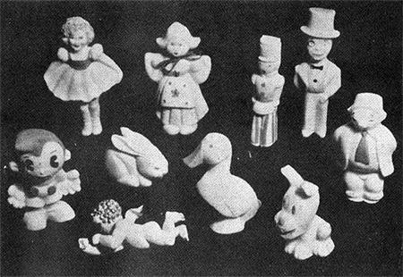 Lester Gaba soap figures