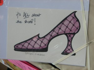 All About the Shoes Illustration