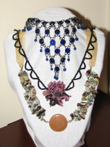 Trio of Statement Necklaces