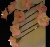 Attached to a ribbon, ready for gifting or storing