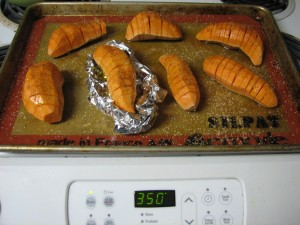 Finished Hasselback Potatoes