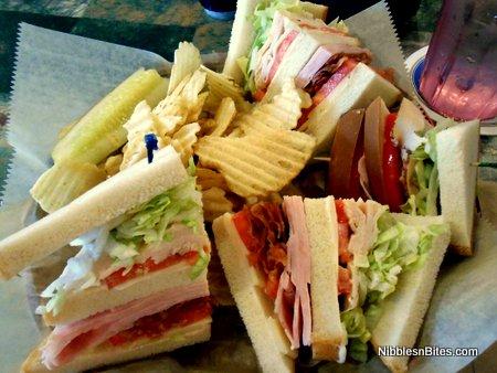Club European sandwich from European Street Cafe