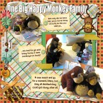One Big Happy Monkey Family