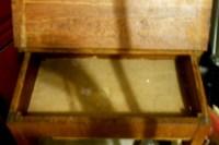 Antique Child's School Desk, Open