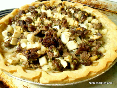 Steak and Stilton Pie