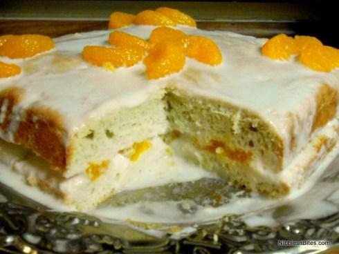 Low-FODMAP Pastel de Tres Leches cake