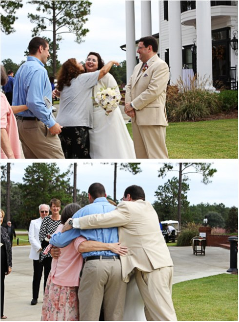 It went from Congratulations to GROUP HUG in a fraction of a second.