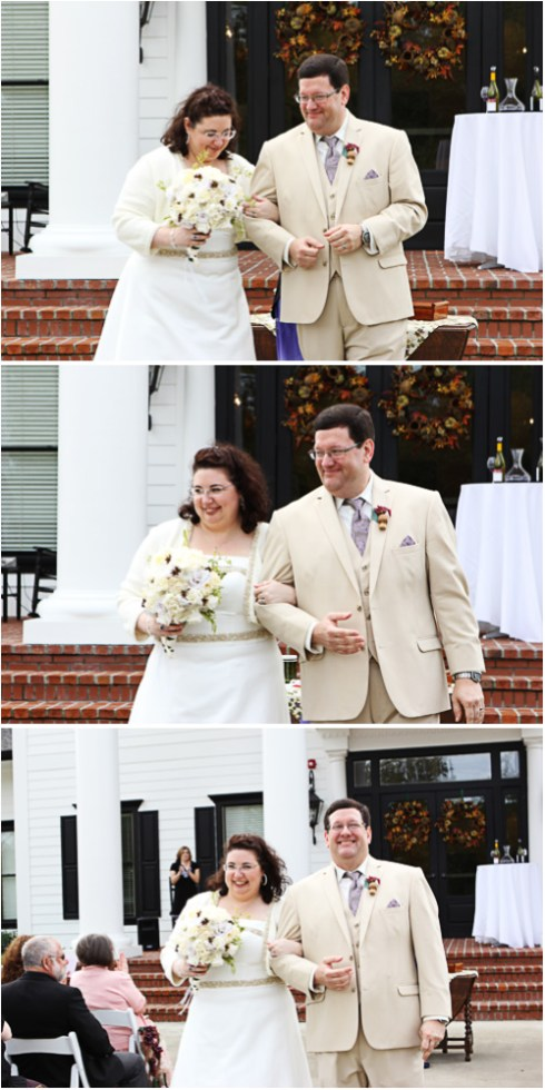 And there we were: married!