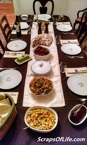 """Finally, a family dinner done """"right."""""""