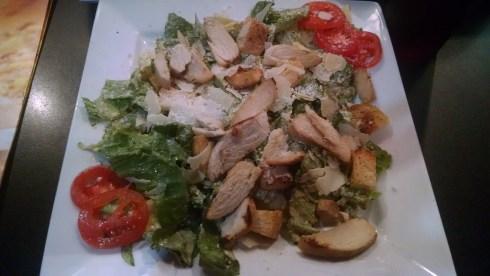 Caesar salad with Chicken @ Northside Pies