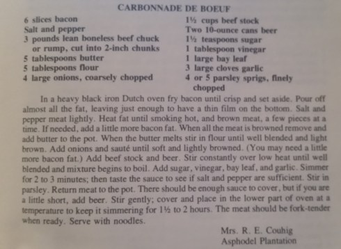 River Road Recipes II, page 103