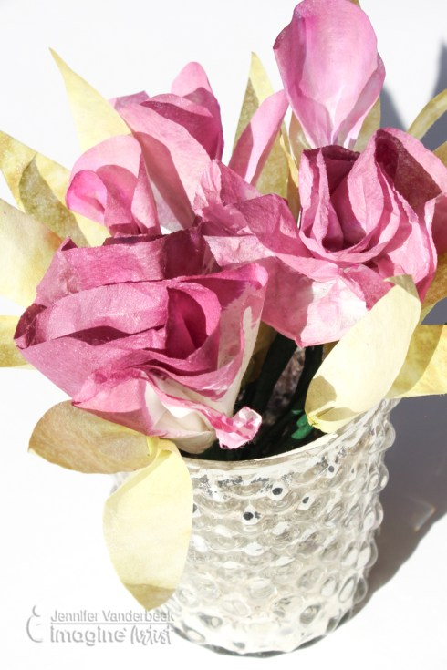 Imagine That: Coffee Filter Wedding Flowers – Scraps of Life
