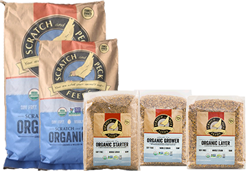Scratch and Peck Feeds Organic Poultry Feed
