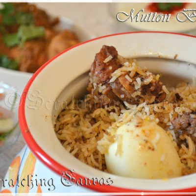 Kolkata Style Mutton Biryani: Step By Step Recipe