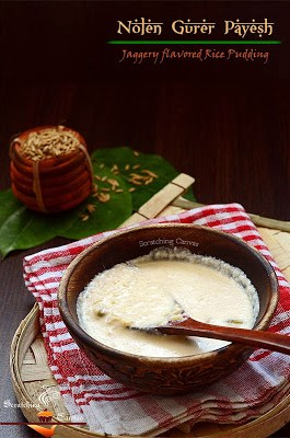 Rice Pudding with Date Palm Jaggery