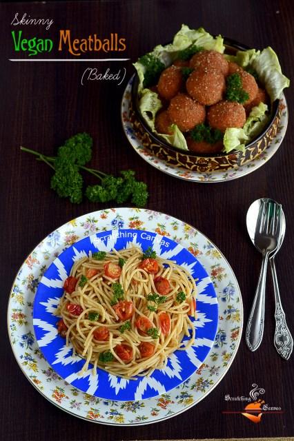 Marinara Sauce with Vegan Meatball